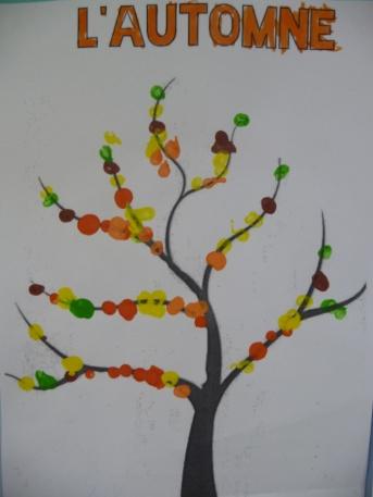 Nos arbres d automne ecole sainte marie du dresny - Comment s appelle l arbre du kaki ...